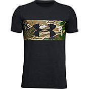 Under Armour Boys' Banded Camo Short Sleeve T-Shirt