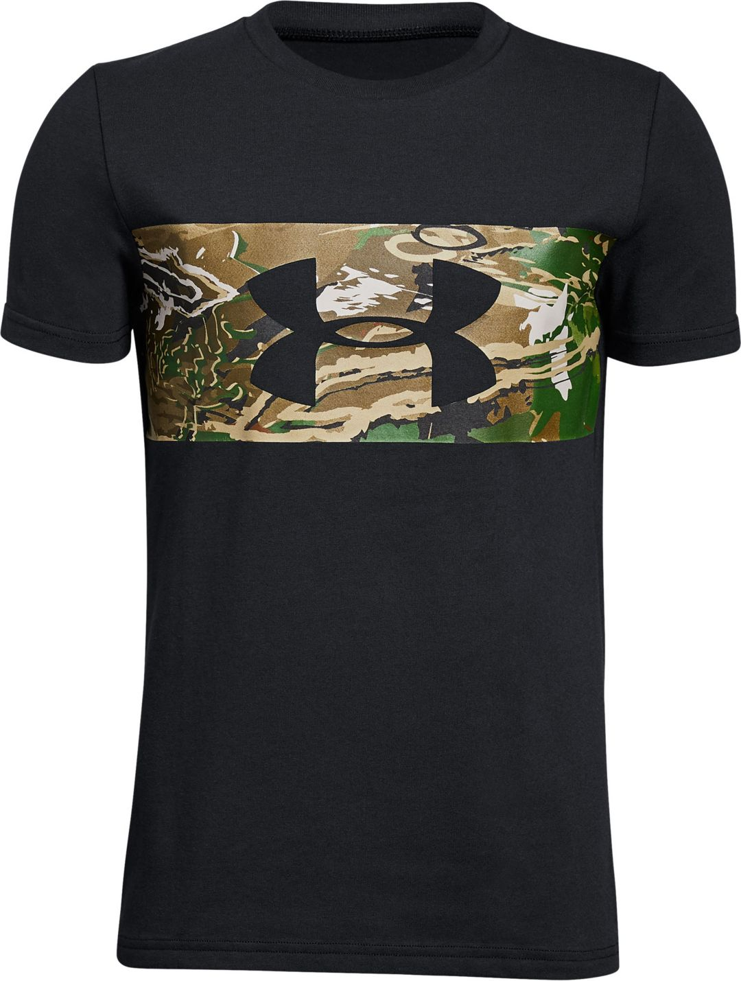 c7054043f Under Armour Boys' Banded Camo Short Sleeve T-Shirt | Field & Stream