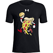 Under Armour Boys' Basketball Pizza Graphic T-Shirt