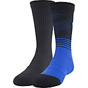 Under Armour Boys' Phenom 2.0 Crew Socks - 2 Pack