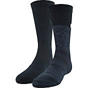 Under Armour Boys' Phenom 2.0 Crew Socks 2 Pack