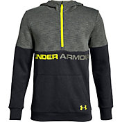 Under Armour Boys' Double Knit ½ Zip Hoodie
