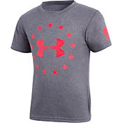 Under Armour Little Boys' Freedom Short Sleeve T-Shirt