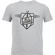 Under Armour Boys' All Game Football Graphic T-Shirt