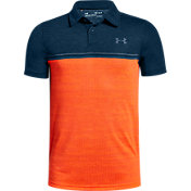 Under Armour Boys' Jordan Spieth Threadborne Callibrate Golf Polo