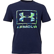 Under Armour Boys' Paint Drip Frame Graphic T-Shirt