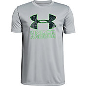 Under Armour Boys' Print Filled Big Logo Graphic T-Shirt