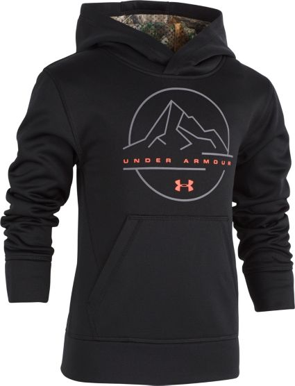 436916dcf3d4 Under Armour Little Boys  Realtree Logo Hoodie. noImageFound