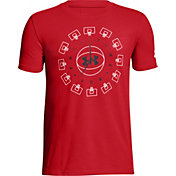 Under Armour Boys' Around The Clock Graphic Basketball T-Shirt
