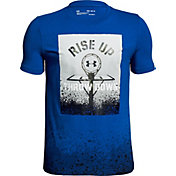 Under Armour Boys' Rise Up Throw Down Graphic Basketball T-Shirt
