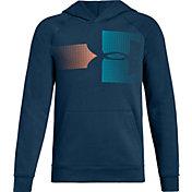 Under Armour Boys' Rival Fleece Logo Hoodie