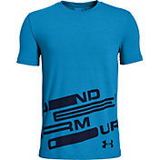 Under Armour Boys' Spatter Branded Graphic T-Shirt
