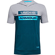 Under Armour Boys' Sportstyle Short Sleeve Hoodie