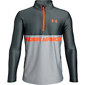 Under Armour Boys' Tech ½ Zip Long Sleeve Shirt