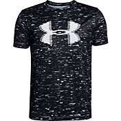 Under Armour Boys' Printed Tech Big Logo Graphic T-Shirt
