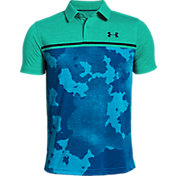 Under Armour Boys' Threadborne Bunker Golf Polo