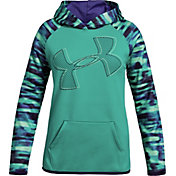 Product Image · Under Armour Girls  Printed Armour Fleece Logo Hoodie d13c7fbfd0f3