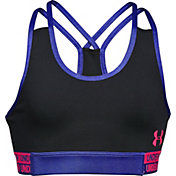 Under Armour Girls' HeatGear Armour Studio Sports Bra