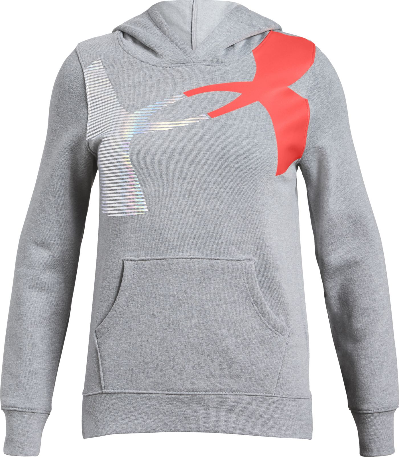 Under Armour Girls' Rival Fleece Hoodie