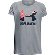 Under Armour Girls' Big Logo Graphic T-Shirt