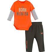 Under Armour Newborn Boys' Born Hunter Onesie & Pant Set