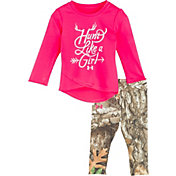 Under Armour Infant Girls' Hunt Like a Girl Long Sleeve Shirt and Pant Set