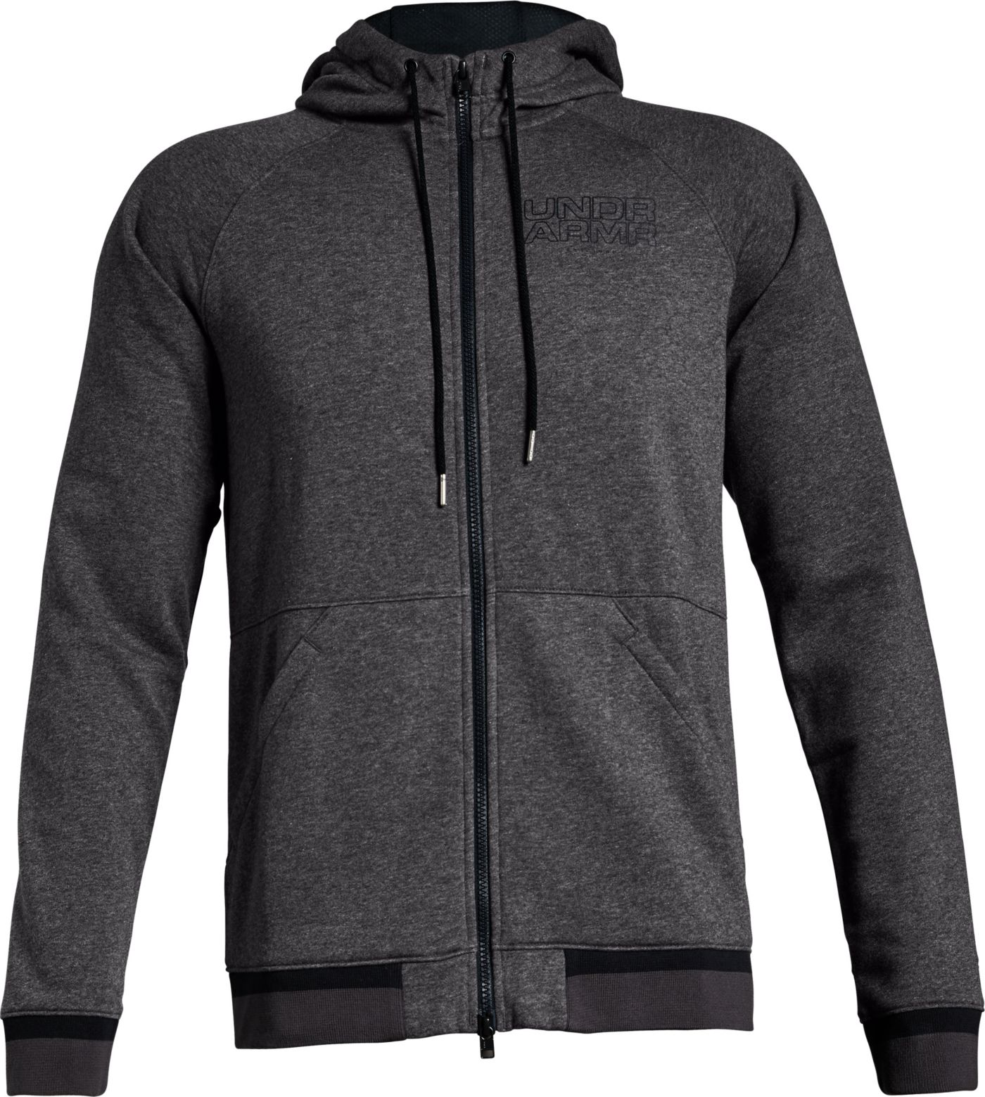 Under Armour Men's Baseline Fleece Full Zip Hoodie