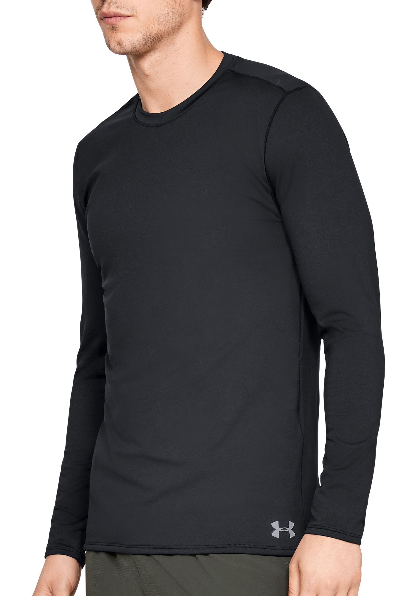 Under Armour Men's ColdGear Fitted Crew Long Sleeve Shirt