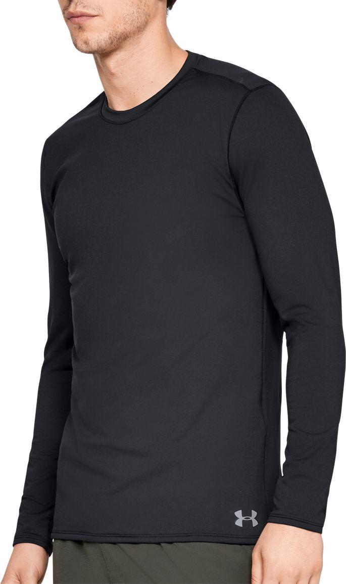 meet exquisite design good looking Under Armour Men's ColdGear Fitted Crew Long Sleeve Shirt (Regular ...