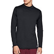 Under Armour Men's ColdGear Armour Mock Neck Compression Long Sleeve Shirt