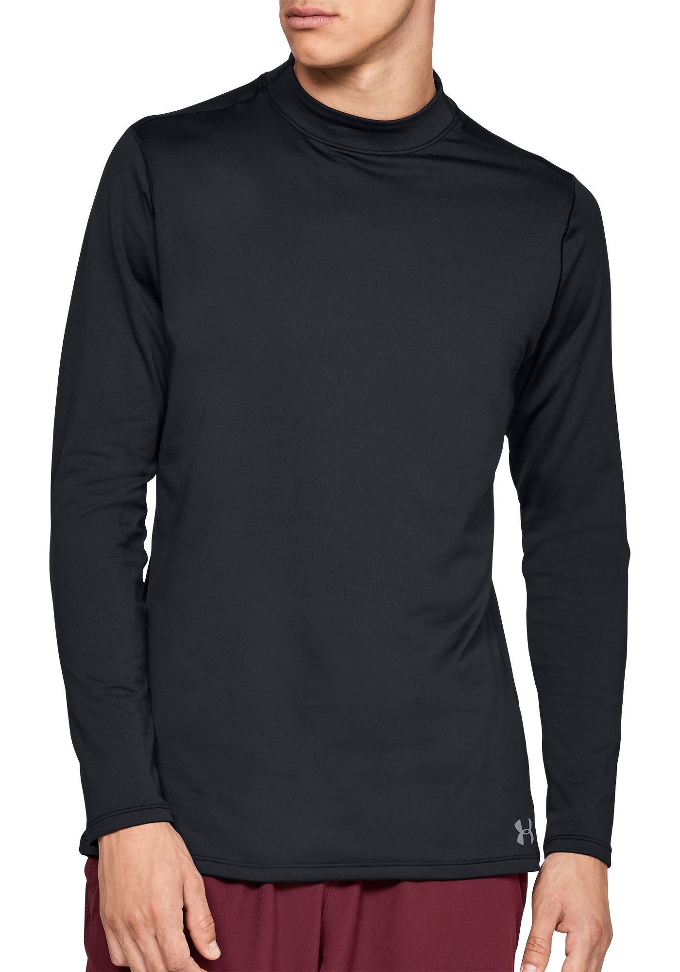 Under Armour Men's ColdGear Armour Mock Neck Long Sleeve Shirt