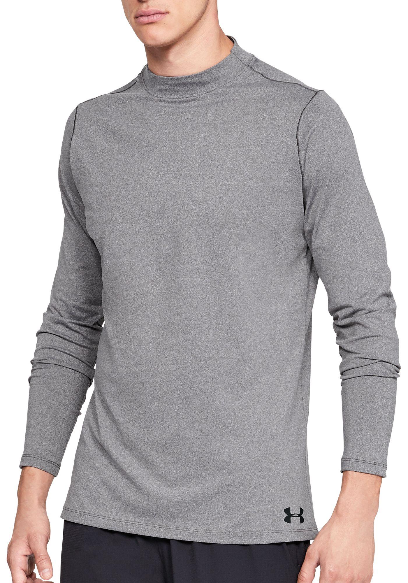 Under Armour Men's ColdGear Armour Mock Neck Long Sleeve Shirt