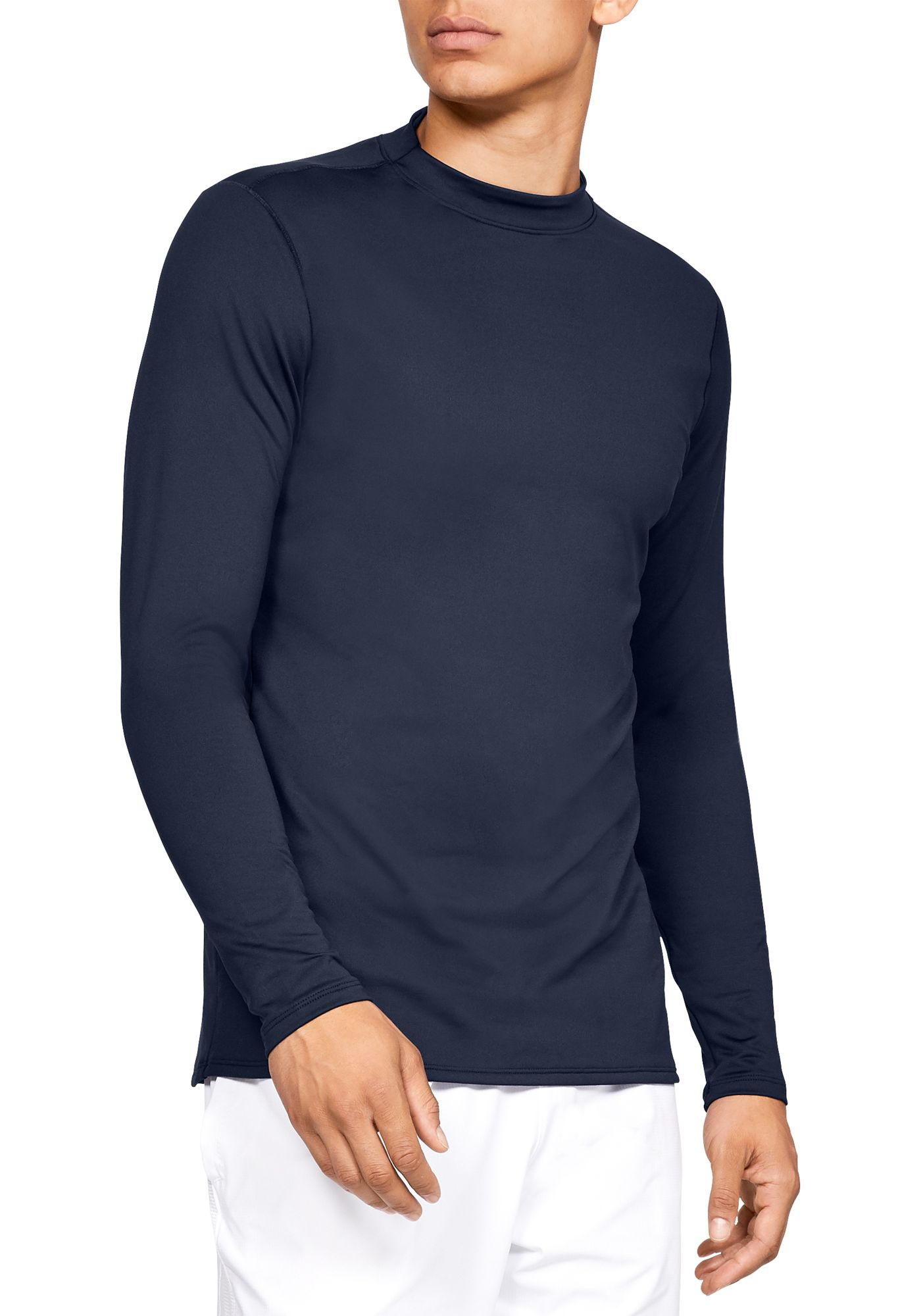 Under Armour Men's ColdGear Armour Mock Neck Long Sleeve Shirt (Regular and Big & Tall)
