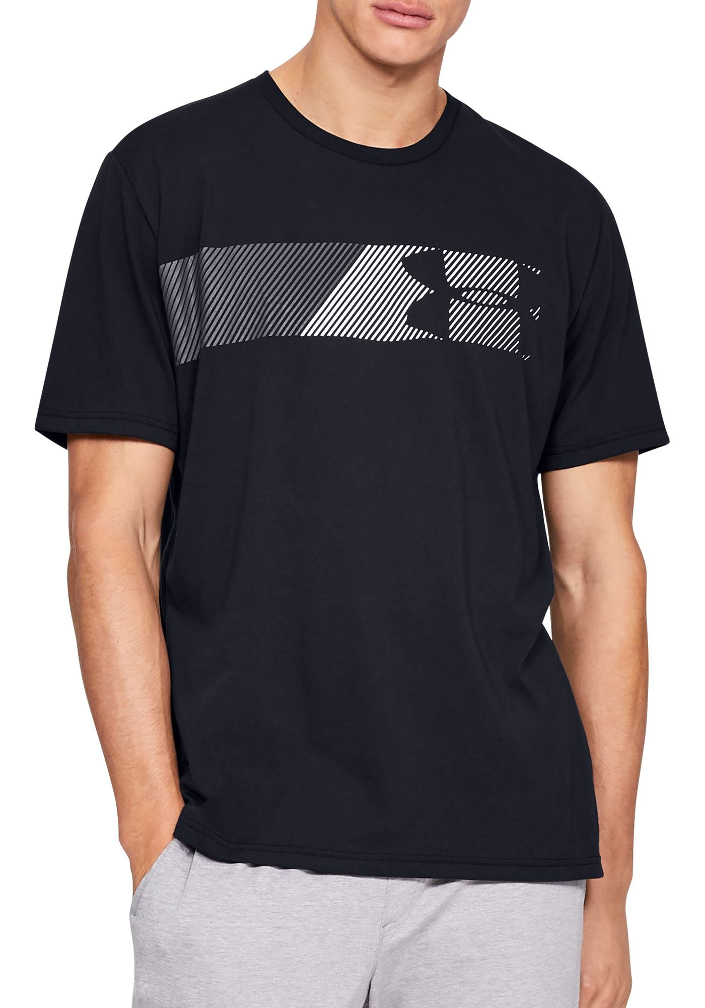 Under Armour Men's Fast Left Chest Logo Graphic T-Shirt