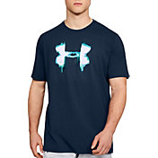 Under Armour Men's Glitch Big Logo T-Shirt