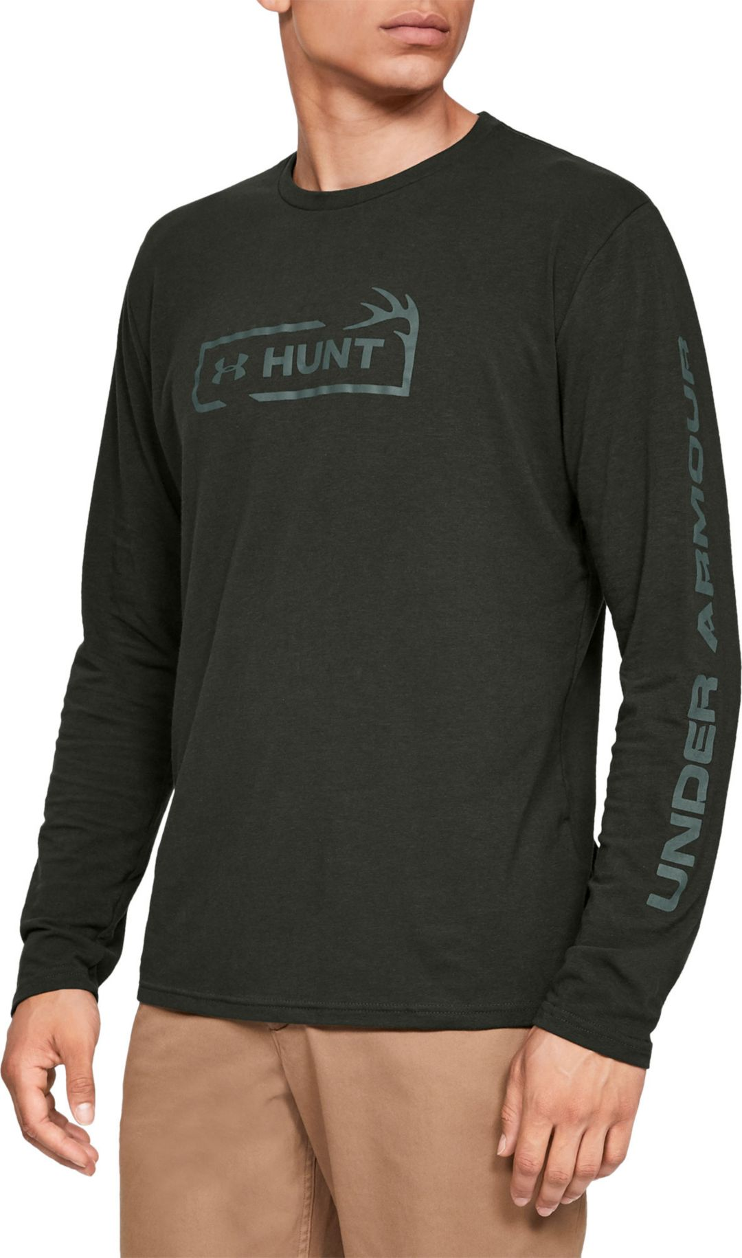 50f1603f84 Under Armour Men's Hunt Icon Long Sleeve Shirt