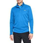 Under Armour Men's SweaterFleece Snap Mock Golf Pullover