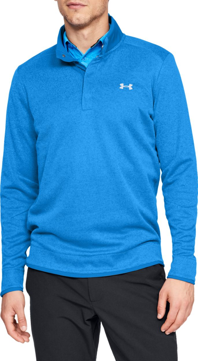limpid in sight latest discount 2020 Under Armour Men's SweaterFleece Snap Mock Golf Pullover