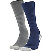 Under Armour Men's Heatgear Crew Socks 2 Pack