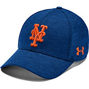 Under Armour Men's New York Mets Tonal Twist Adjustable Hat