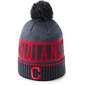 Under Armour Men's Cleveland Indians Jacquard Cuff Beanie