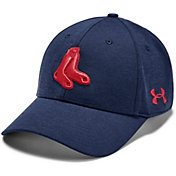 Under Armour Men's Boston Red Sox Tonal Twist Adjustable Hat
