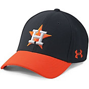 Under Armour Men's Houston Astros Blitzing Adjustable Hat