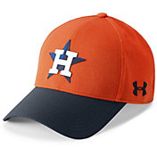 Under Armour Men's Houston Astros Driver Adjustable Hat