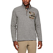 Under Armour Men's Sweaterfleece Henley Long Sleeve Shirt