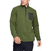 Under Armour Men's Sweaterfleece Henley Long Sleeve Shirt
