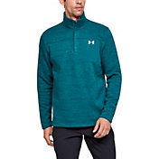 Under Armour Men's Sweaterfleece Henley Long Sleeve Shirt (Regular and Big & Tall)