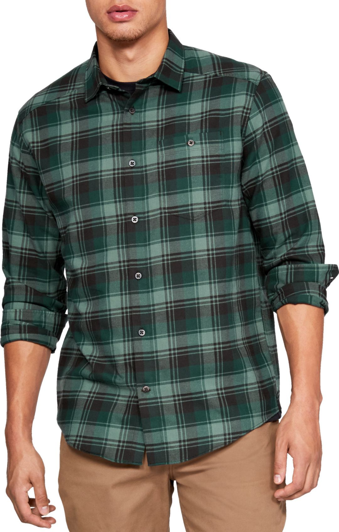 5601511ea9 Under Armour Men's Tradesman Flannel Long Sleeve Shirt