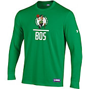 Under Armour Men's Boston Celtics Lockup Long Sleeve Shirt