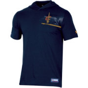 Under Armour Men's Cleveland Cavaliers Short Sleeve Hooded Shirt